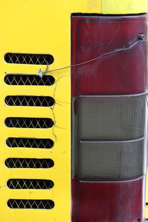 stoplights: Bus taillight  Stock Photo