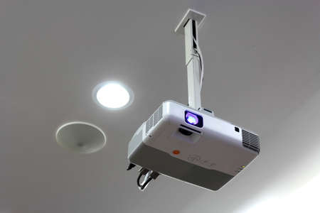 Projector hang on ceiling photo