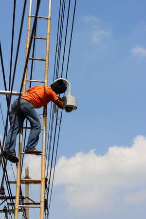 Technicians to install CCTV