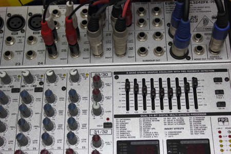 Electronic mixer  part 4   photo