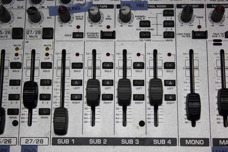 Volume Electronic mixer  photo