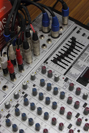 Electronic mixer  part 1  photo