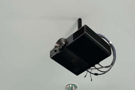 Projector ceiling black
