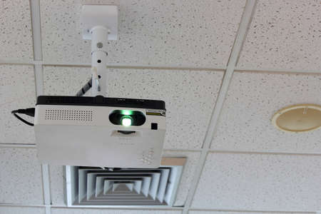 audiovisual: Projector hang on ceiling