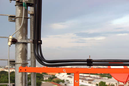 telco: Cable on telephone poles