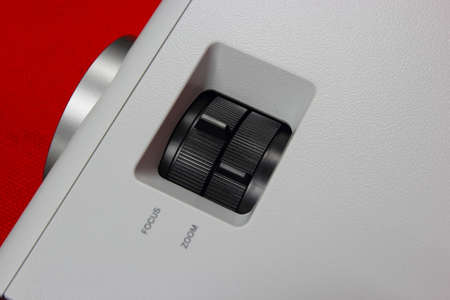 Close-up a position ring adjust picture projector  photo