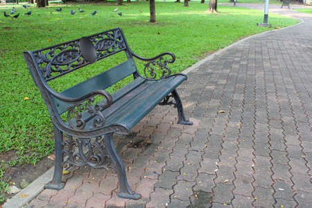 Bench in the park part 1 Stock Photo - 22958605