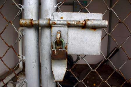 The cage door locks part 1 photo