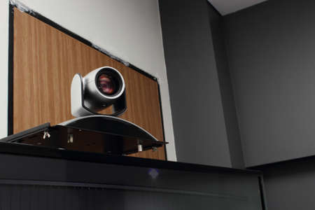 conferencing: Video conferencing in the conference room