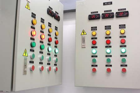 control panel lights: Control panel box