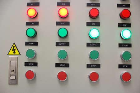 control panel lights: Control panel indicator