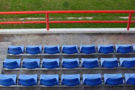 Empty seats in football stadium after the season part 6
