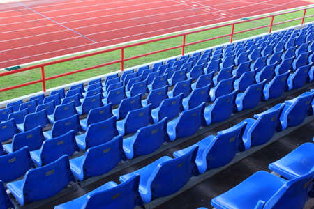Empty seats in football stadium after the season part 1