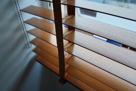 wakening: Close up blinds Stock Photo
