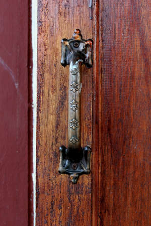 Closeup door handle  photo
