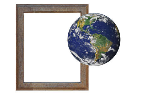 World outside the framework of globalization photo