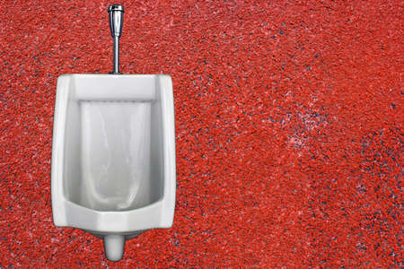 urinals red background Part 3 photo