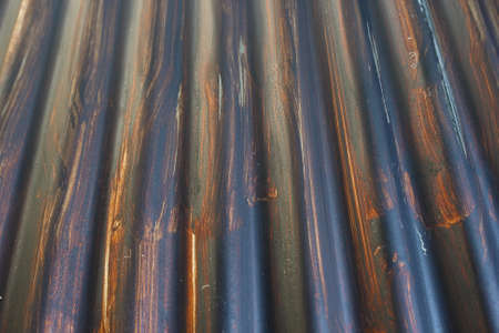 Roof rust   Painted black rust   photo