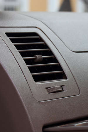 vents: Air  vents close in car Stock Photo