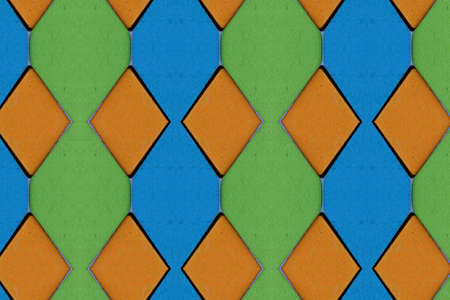 Patterns and art of colored paper Stock Photo