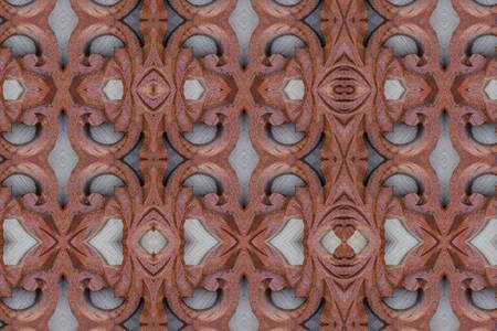 carve: Carve wood pattern close