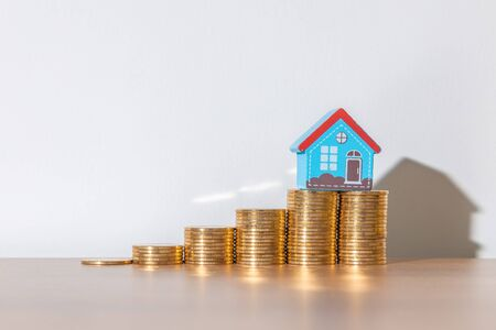 Finance and Investment concept and Real Estate Growth Interest
