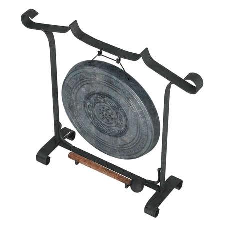 resonator: Gong isolated on white background