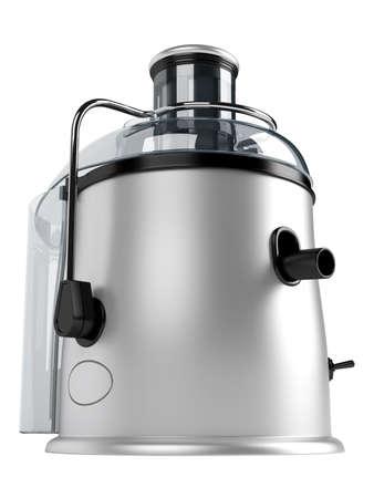 White juice extractor isolated on white background photo