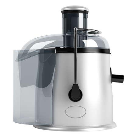 juicer: White juice extractor isolated on white background