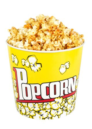 Pack with popcorn