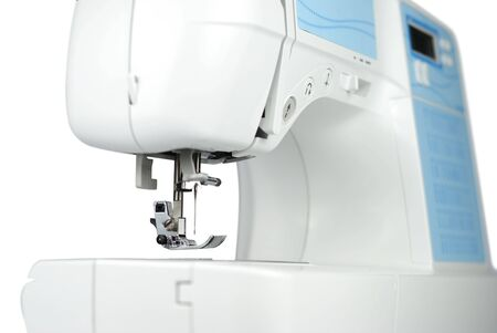 Fragment of modern sewing machine Stock Photo - 6220013