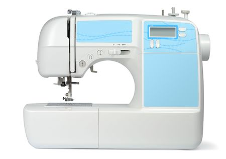 New modern sewing machine Stock Photo - 6220019