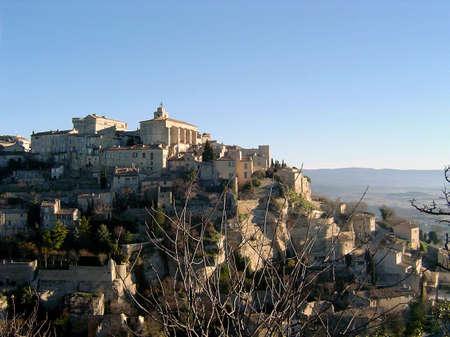 gordes: mountain city in Gordes