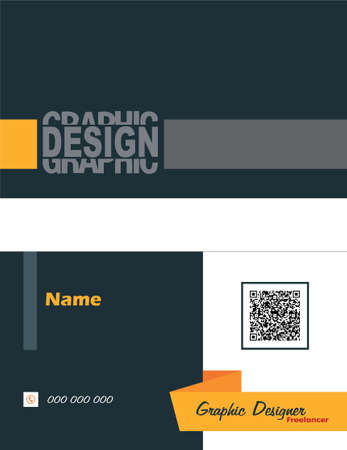 business card: business card for freelancer