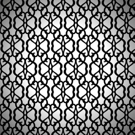 白い背景の鍛造のシームレス パターン