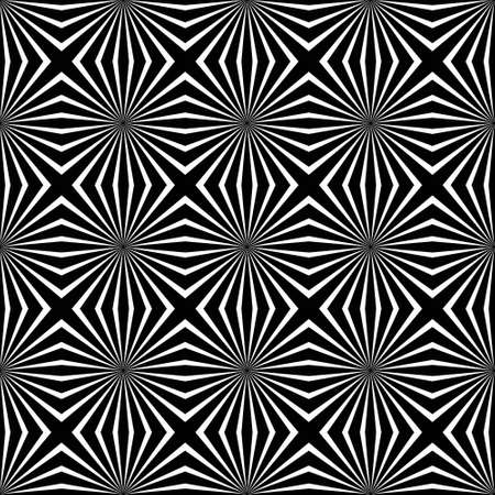 catchy: Psychedelic black and white abstract background Illustration