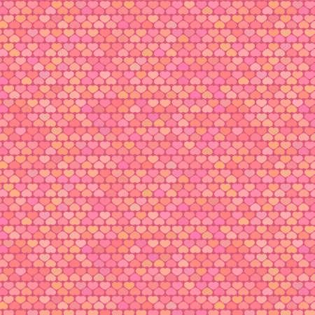 pastel shades: Small Hearts Pattern in Pastel Shades, vector Illustration