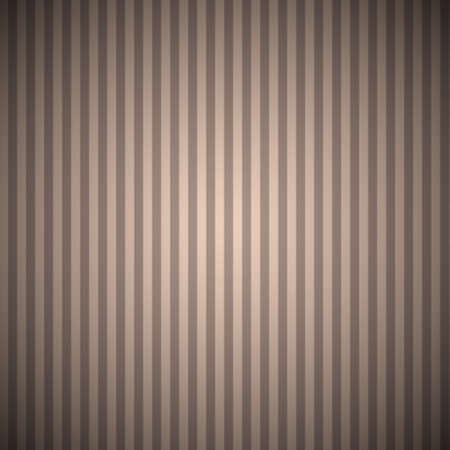 swatch: Vintage Beige and Brown Striped Seamless Pattern Background with Corner Vignetting Saved in Swatch Panel Illustration