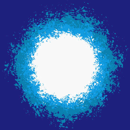 splattered: Blue Splattered Painted Background for your text.