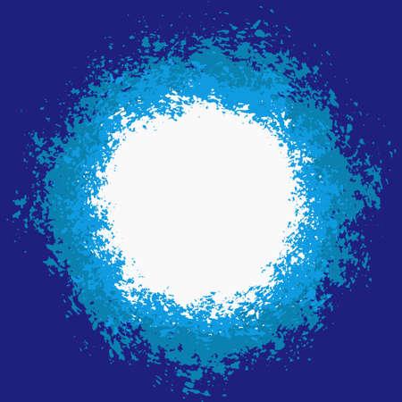 splattered: Blue Splattered Painted Background for your text.