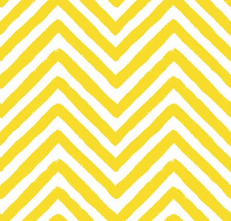 chevron pattern: Vector Chevron Yellow Seamless Pattern. Painted background, zigzag brush strokes composition. Vector chevron pattern for fabric print, textile design, fashion clothes. Paint texture vector.