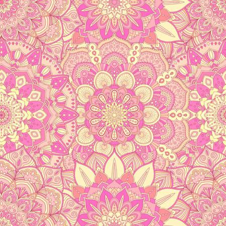 Flower pattern seamless pink background floral ornament for flower pattern seamless pink background floral ornament for fabric print furniture wallpaper mightylinksfo