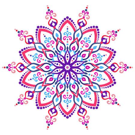 Mandala flower design element