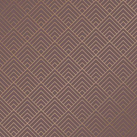 Art Deco Pattern Vector illustration. Illustration