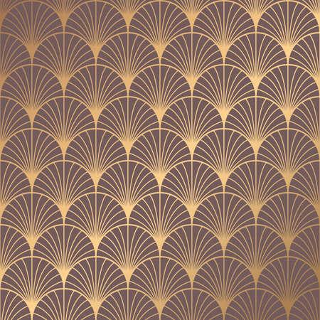 Art Deco patroon Vector Illustratie