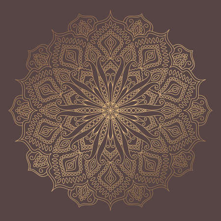 Mandala Vector Design Element