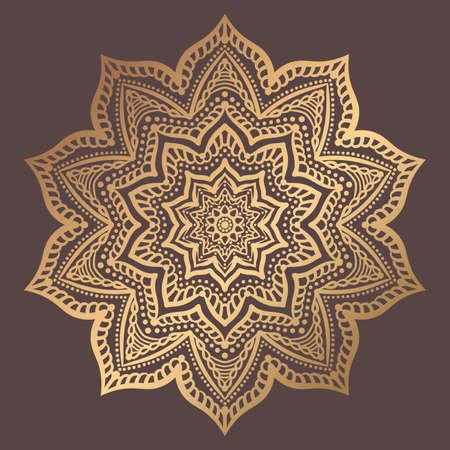 Mandala  Design Element Vector illustration. 일러스트