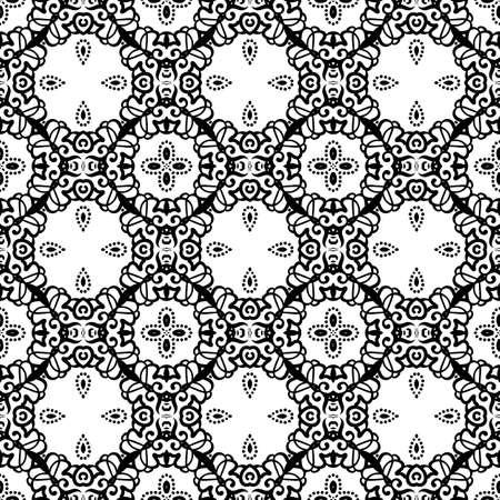 Intricate Lace Pattern Background 일러스트