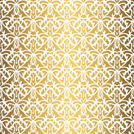 Golden background. Luxury seamless pattern elegant design 스톡 콘텐츠 - 132427659