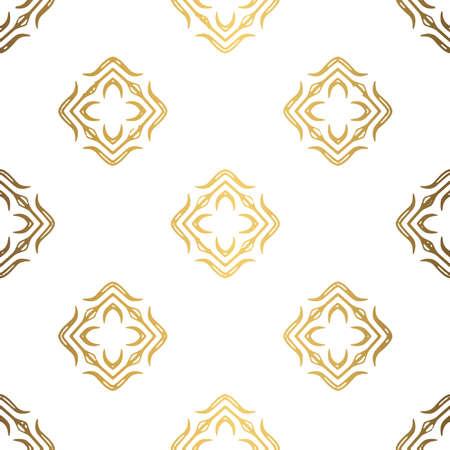 Golden background. Luxury seamless pattern elegant design 스톡 콘텐츠 - 132427725